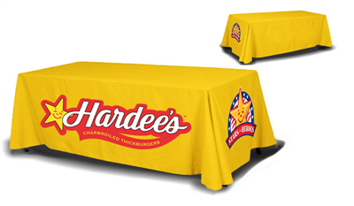 6ft Table Cover 4 sided (Close Back)